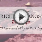 Travel Tip #20- How and Why to Pack Light