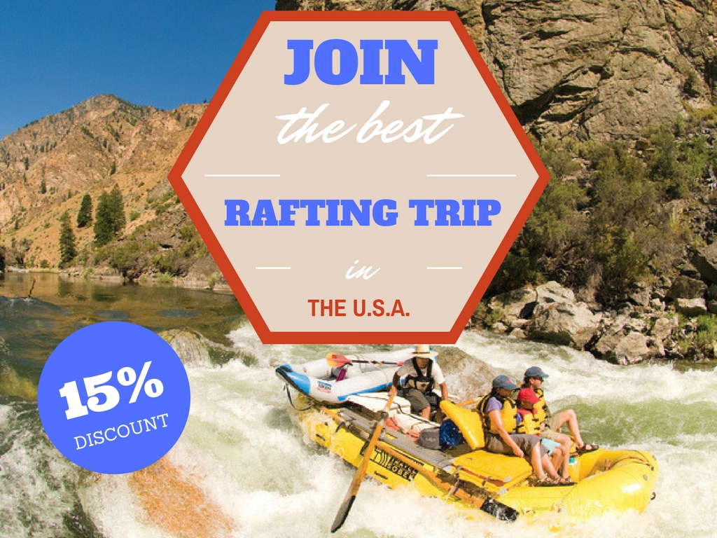 Join the Best Rafting Trip in the U.S.A.